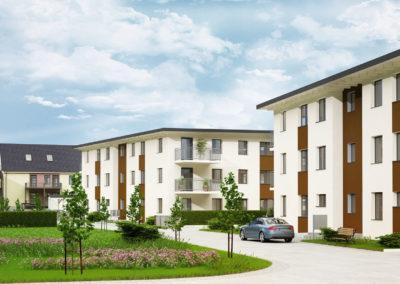 Stralsund – Wohnpark Sundblick – Mehrfamilienhäuser – 2018