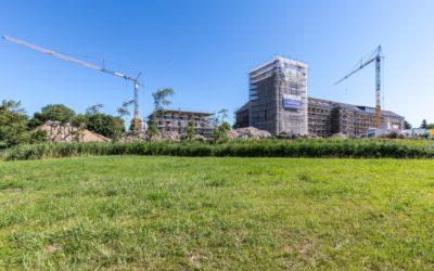 """Richtfest zur Fertigstellung des neu erbauten Strandhaus – Projekt """"Zwei Wasser"""""""