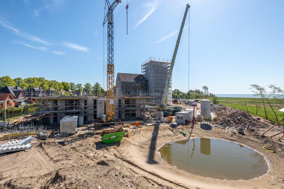 Bauarbeiten laufen im vollen Umfang weiter – Ostseebad Wustrow