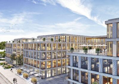 Rostock – Bürokomplex und Parkhaus Neptun Kai