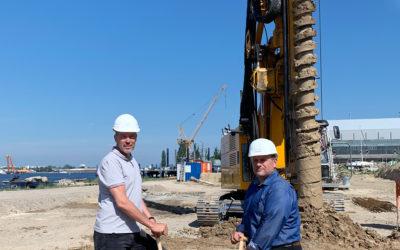 Gehlsdorf: Baubeginn erfolgt